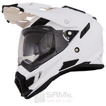 O'Neal Sierra Snow Weiß Motorrad Helm Pic:1