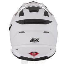 O'Neal Sierra Snow Weiß Motorrad Helm Pic:2