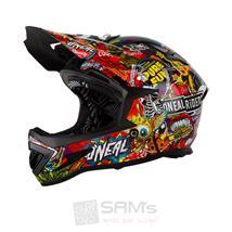 O'Neal Warp Fidlock DH Helm Crank Schwarz Multi