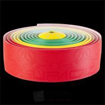 Supacaz Super Sticky Kush Lenkerband rot gelb grün Pic:3