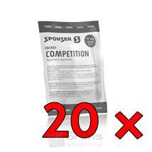 Sponser Competition Hypotonic Box 20 x 60g Orange