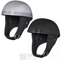 TTheroes Braincap Helm mit Nappa Leder Fiberglas