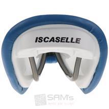 Iscaselle Triathlon Retro Rennrad Ledersattel Blau Pic:5