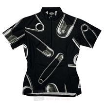 Zoelle Safety Pin Damen Trikot T-Shirt Oberteil