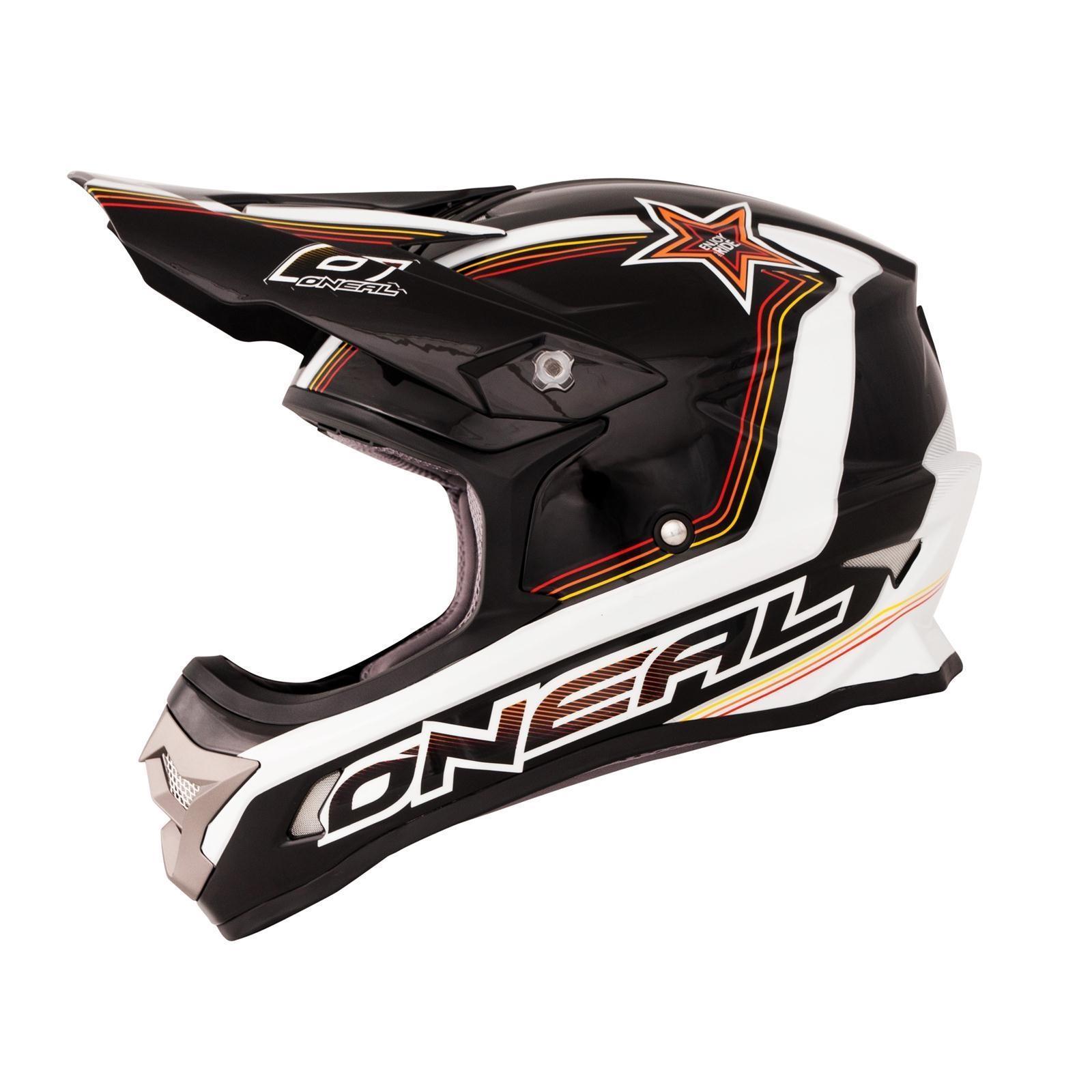 ONeal-Motocross-casco-MX-ENDURO-MOTO-BICI-FUORISTRADA-CROSS-Series-Adventure miniatura 122