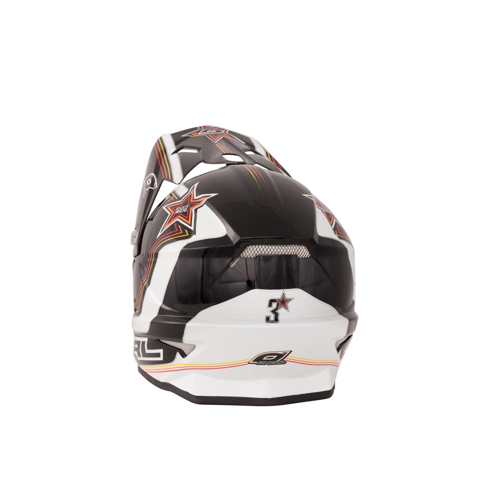 ONeal-Motocross-casco-MX-ENDURO-MOTO-BICI-FUORISTRADA-CROSS-Series-Adventure miniatura 123