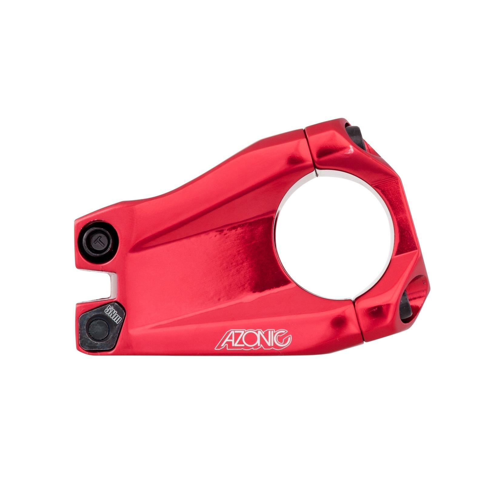 Azonic Gargiulo EVO Potence Vélo Guidon Serrage Aluminium Support 31,8 mm 40 mm