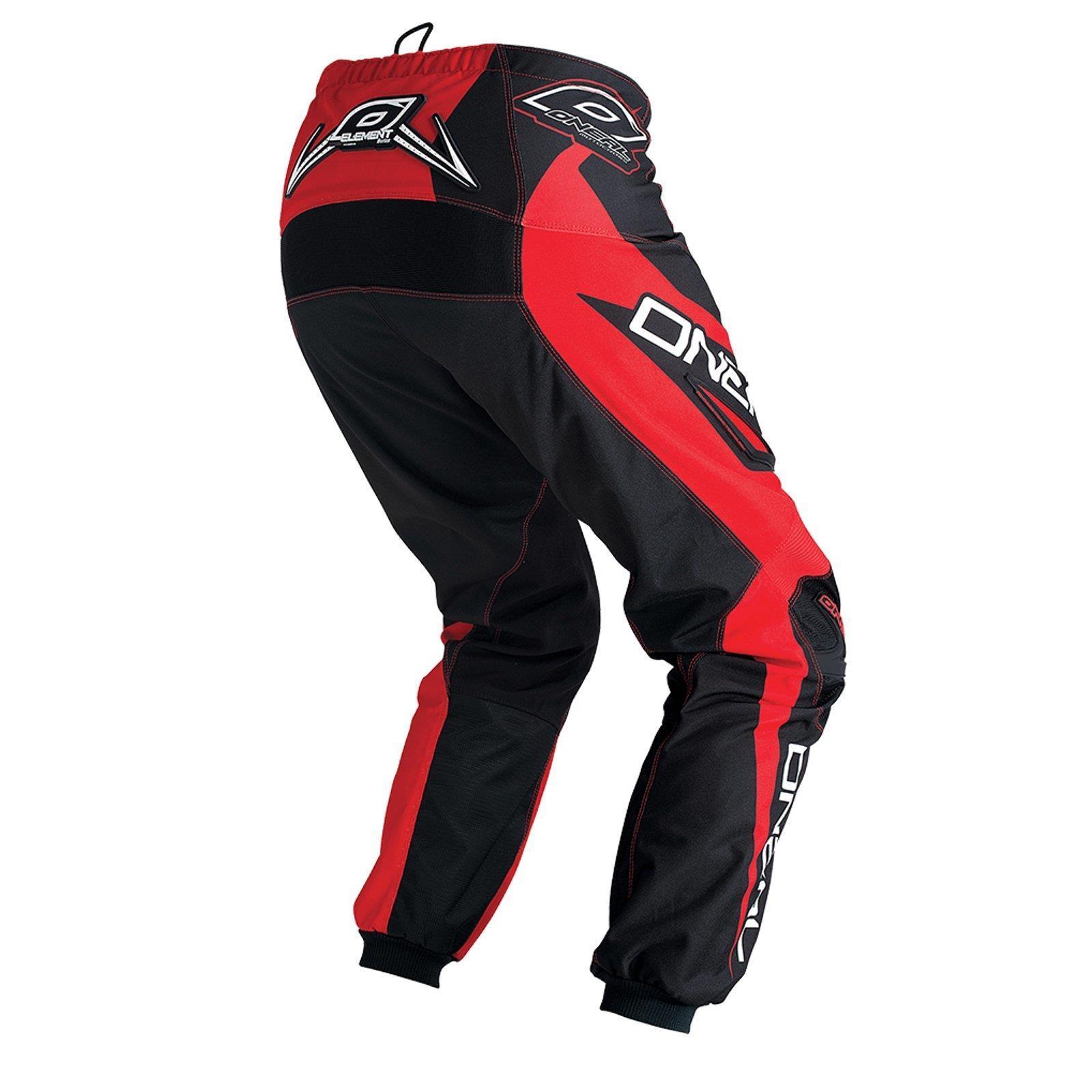 O-039-neal-elemento-Mayhem-Hardwear-Pants-pantalones-MX-Moto-Cross-Enduro-todoterreno-cuero miniatura 16