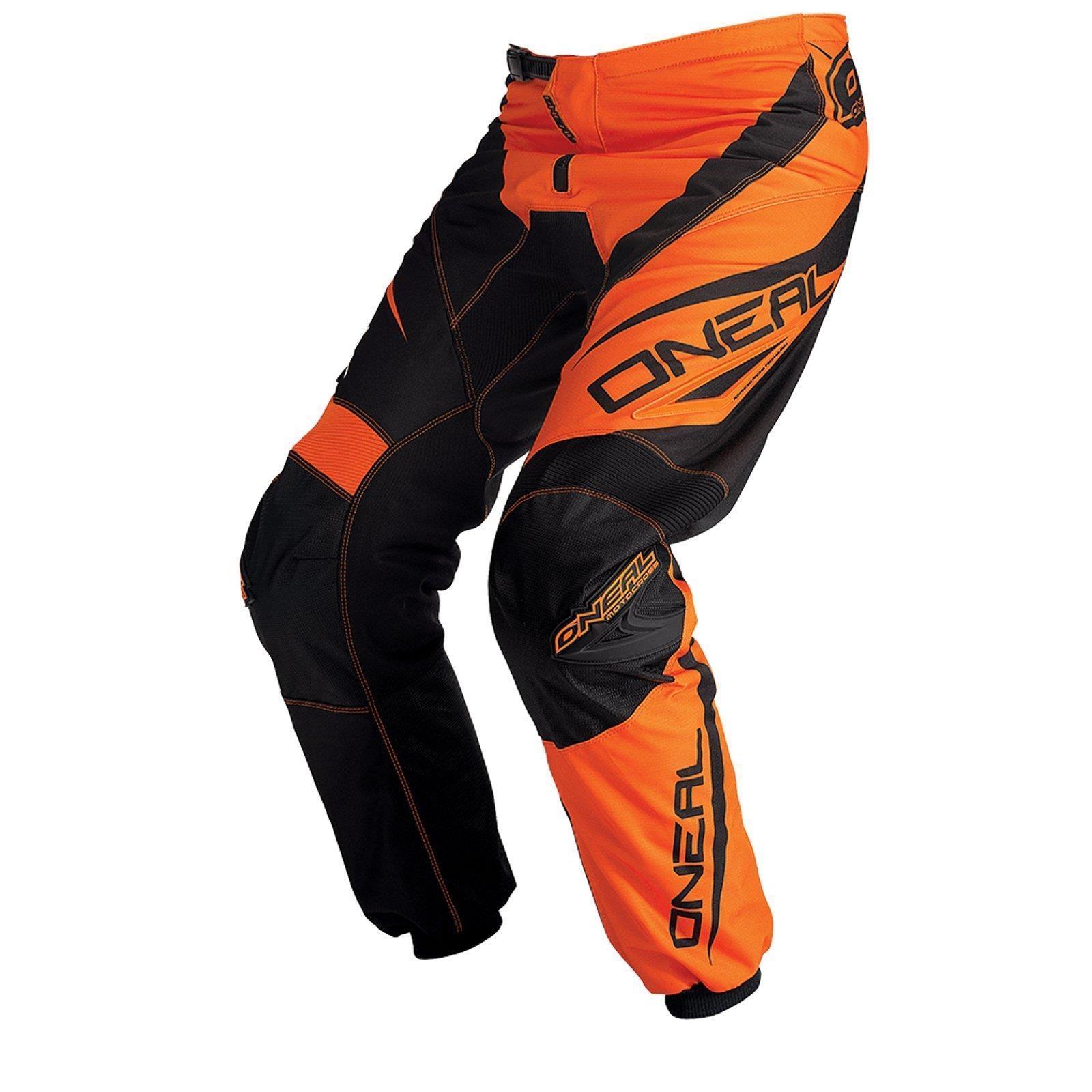 O-039-neal-elemento-Mayhem-Hardwear-Pants-pantalones-MX-Moto-Cross-Enduro-todoterreno-cuero miniatura 19