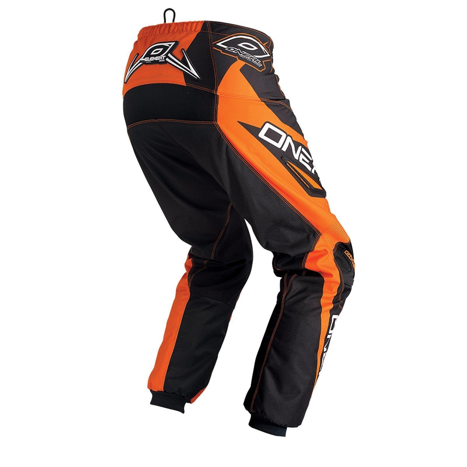 O-039-neal-elemento-Mayhem-Hardwear-Pants-pantalones-MX-Moto-Cross-Enduro-todoterreno-cuero miniatura 20