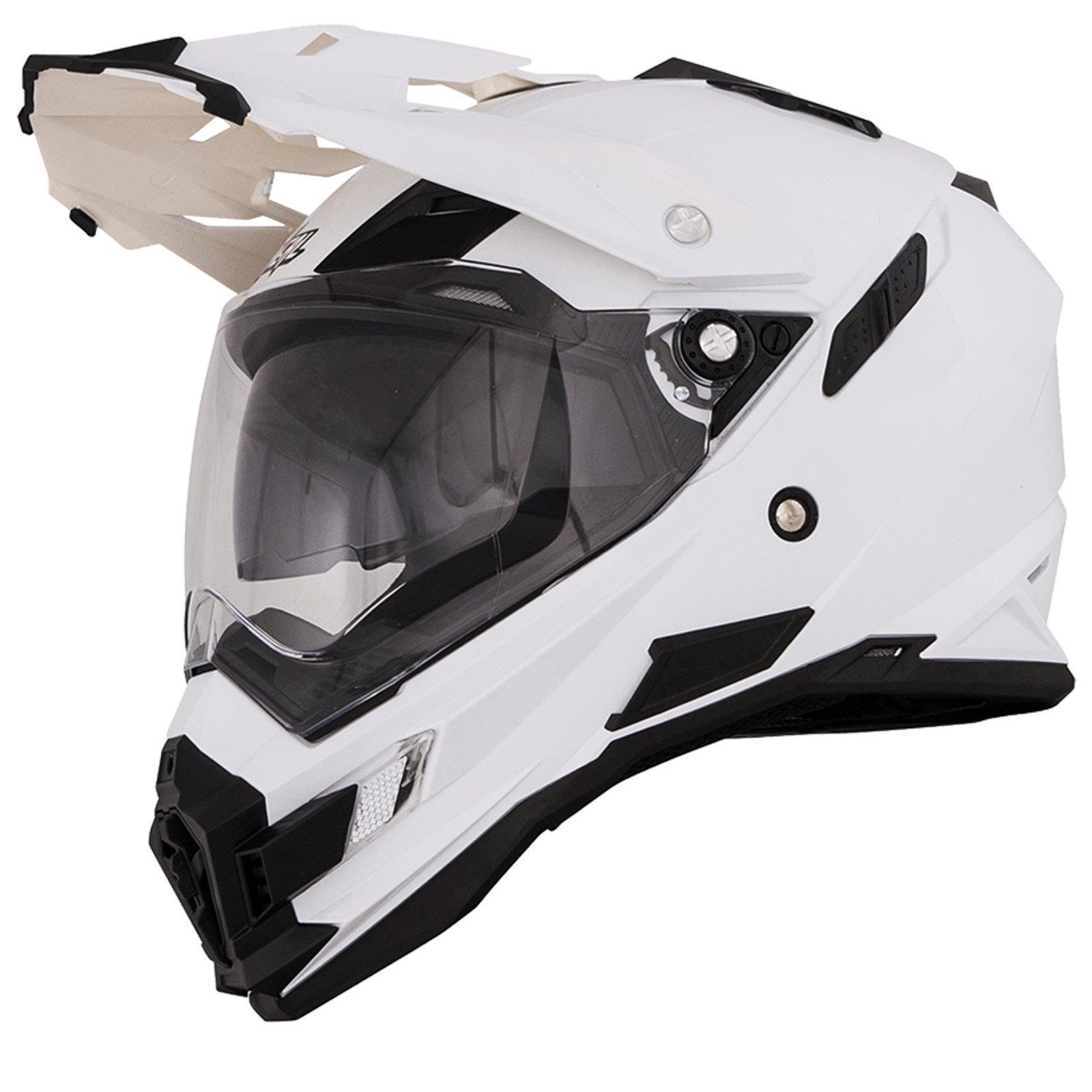 ONeal-Motocross-casco-MX-ENDURO-MOTO-BICI-FUORISTRADA-CROSS-Series-Adventure miniatura 133