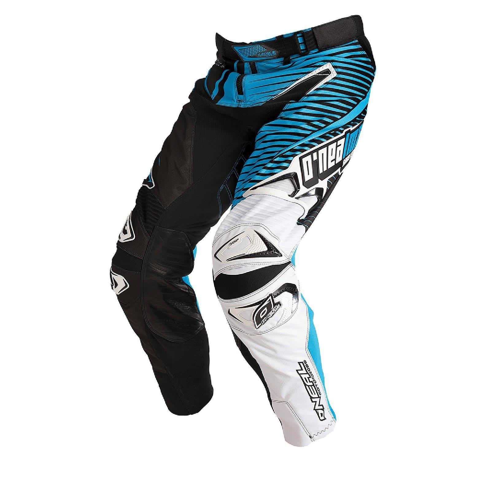 O-039-neal-elemento-Mayhem-Hardwear-Pants-pantalones-MX-Moto-Cross-Enduro-todoterreno-cuero miniatura 25