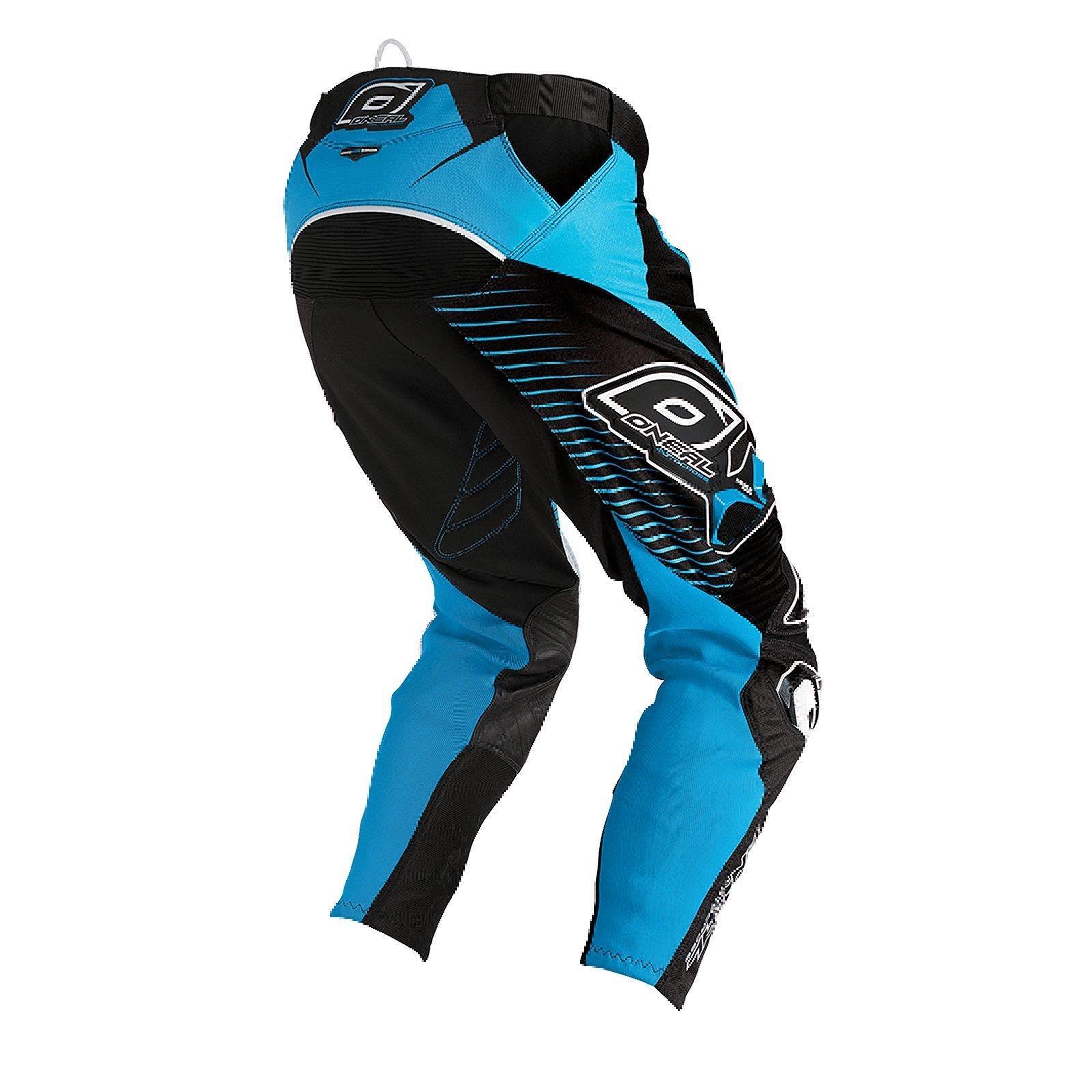 O-039-neal-elemento-Mayhem-Hardwear-Pants-pantalones-MX-Moto-Cross-Enduro-todoterreno-cuero miniatura 26