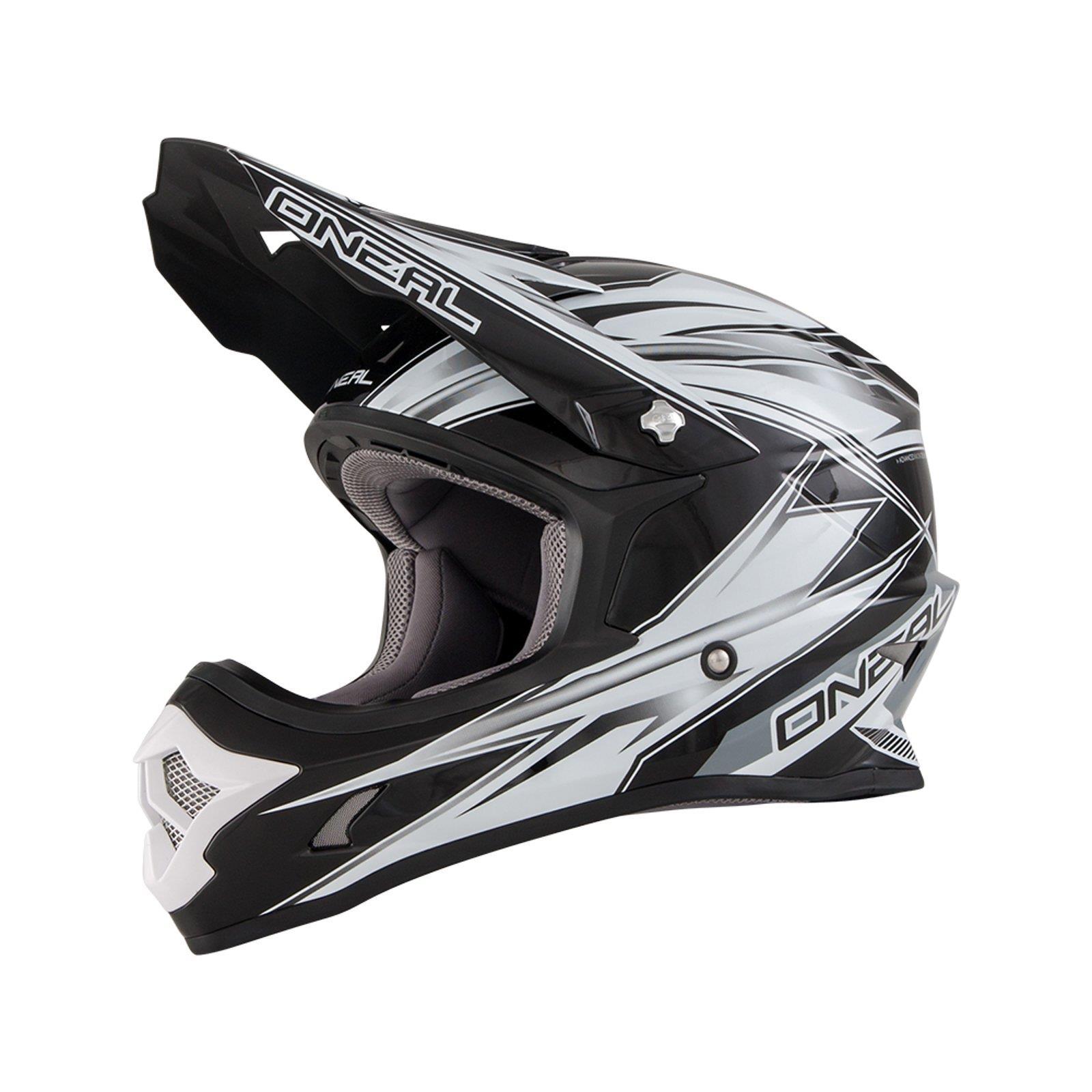 ONeal-Motocross-casco-MX-ENDURO-MOTO-BICI-FUORISTRADA-CROSS-Series-Adventure miniatura 115