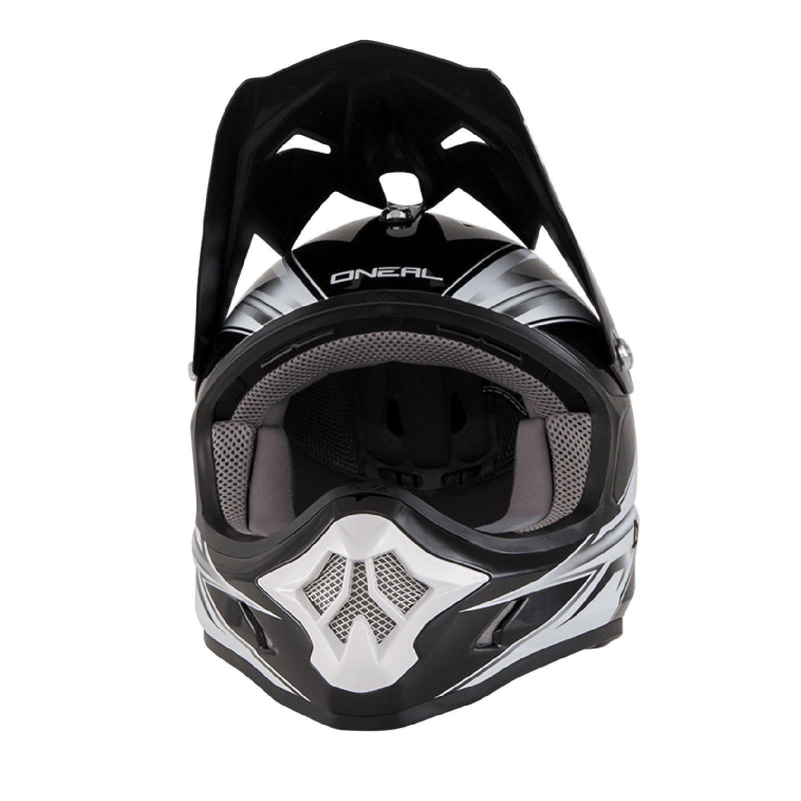 ONeal-Motocross-casco-MX-ENDURO-MOTO-BICI-FUORISTRADA-CROSS-Series-Adventure miniatura 116