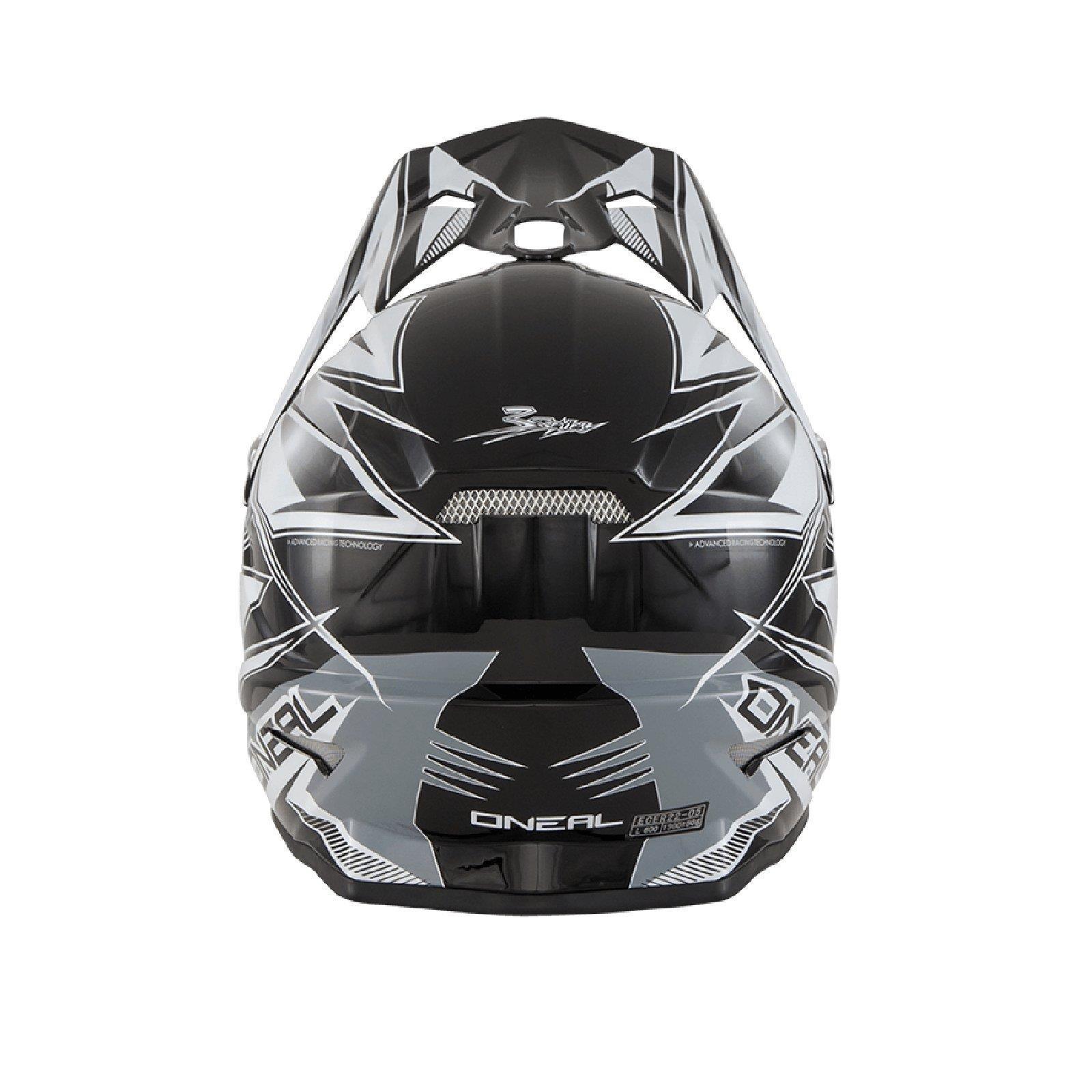 ONeal-Motocross-casco-MX-ENDURO-MOTO-BICI-FUORISTRADA-CROSS-Series-Adventure miniatura 118