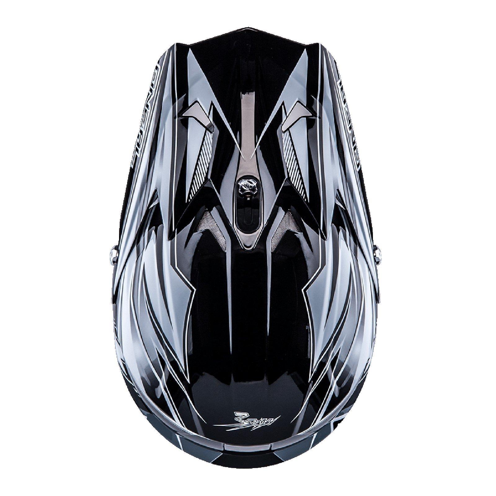 ONeal-Motocross-casco-MX-ENDURO-MOTO-BICI-FUORISTRADA-CROSS-Series-Adventure miniatura 119