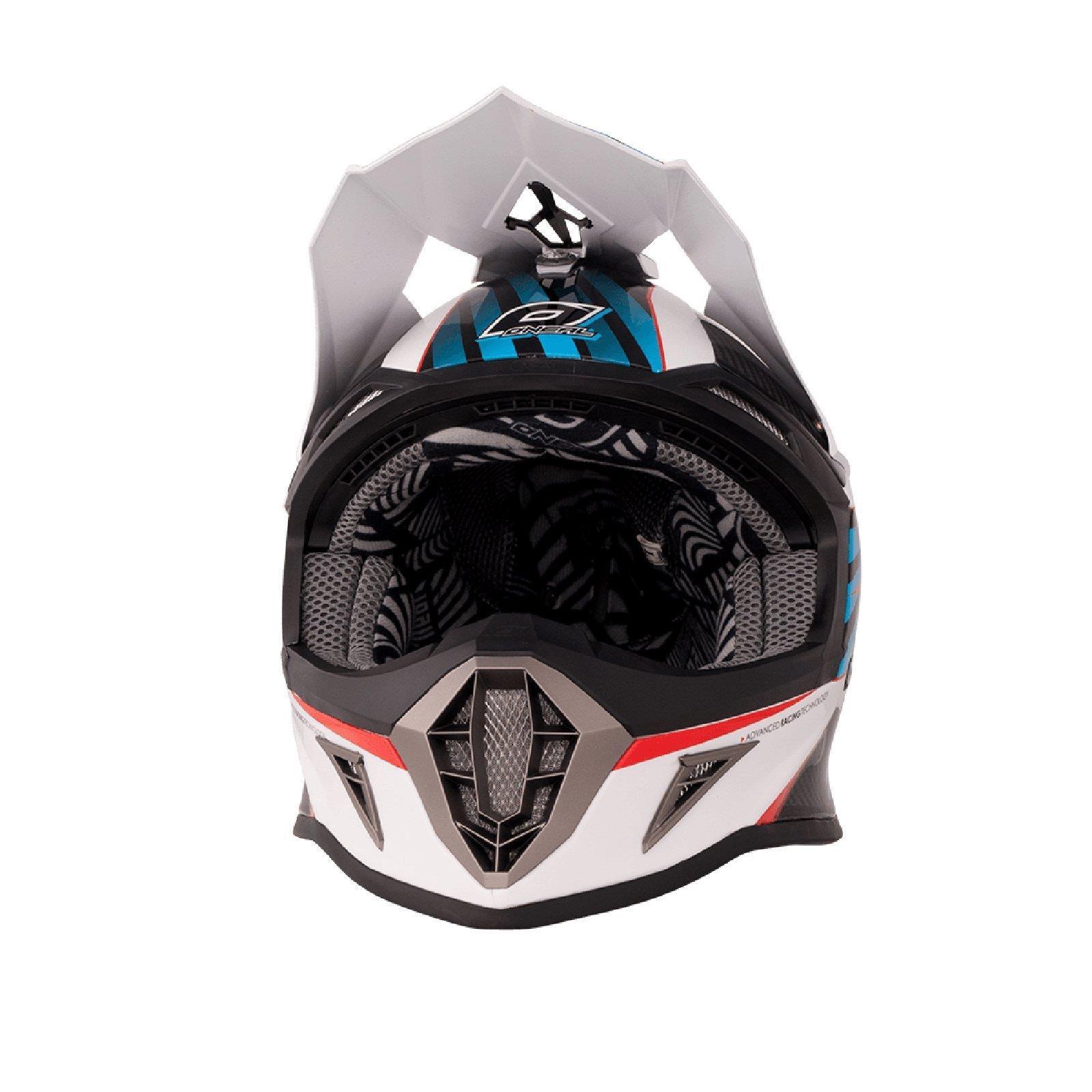 ONeal-Motocross-casco-MX-ENDURO-MOTO-BICI-FUORISTRADA-CROSS-Series-Adventure miniatura 111