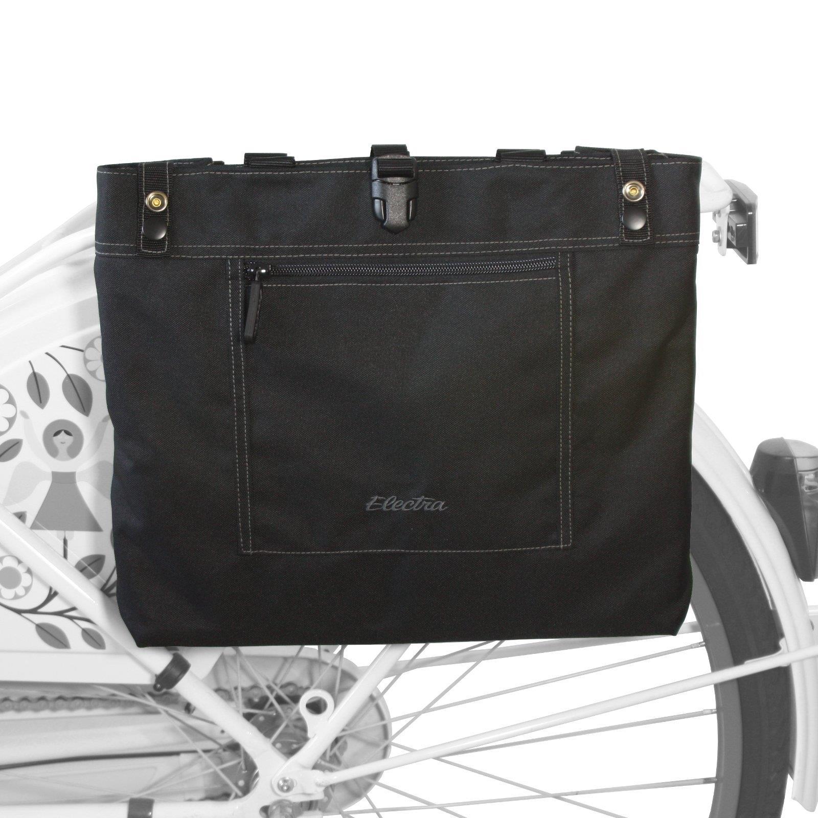 Details zu Electra Fahrrad Trage Tasche Gepäckträger Schulter Messenger Tote Bag Faltbar