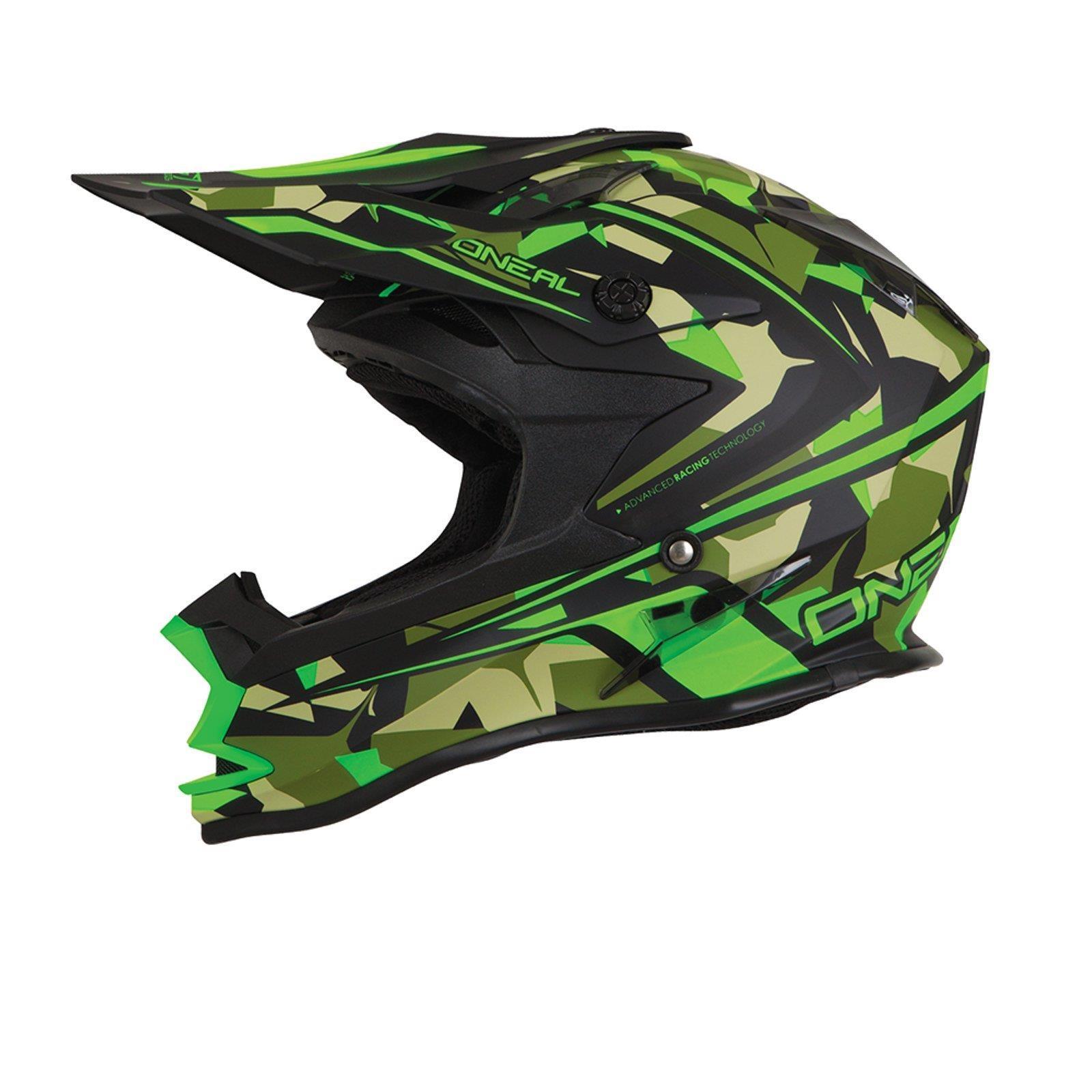 ONeal-Motocross-casco-MX-ENDURO-MOTO-BICI-FUORISTRADA-CROSS-Series-Adventure miniatura 124