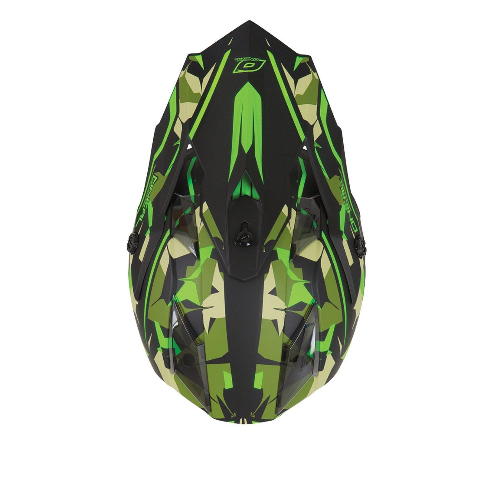 ONeal-Motocross-casco-MX-ENDURO-MOTO-BICI-FUORISTRADA-CROSS-Series-Adventure miniatura 126