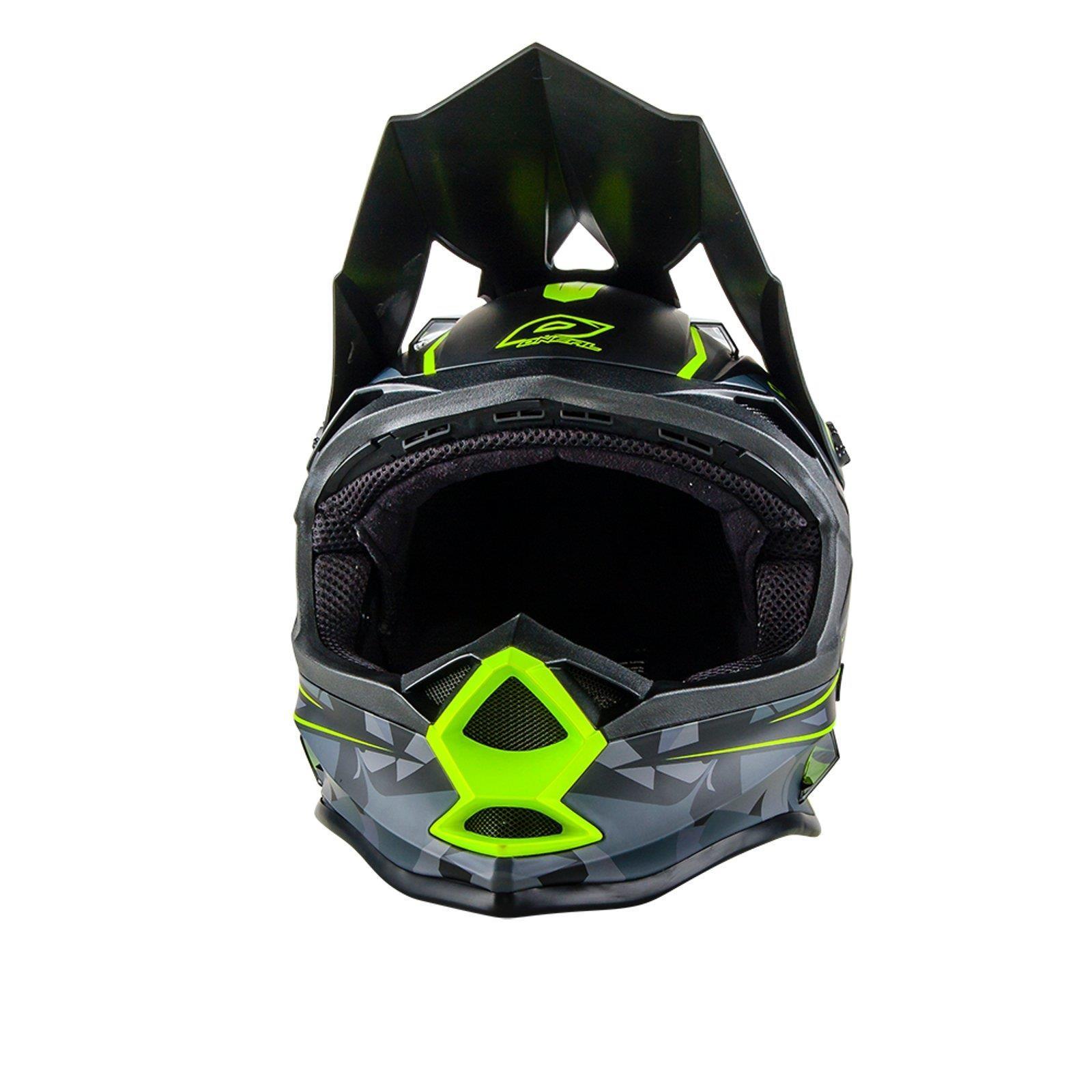 ONeal-Motocross-casco-MX-ENDURO-MOTO-BICI-FUORISTRADA-CROSS-Series-Adventure miniatura 128