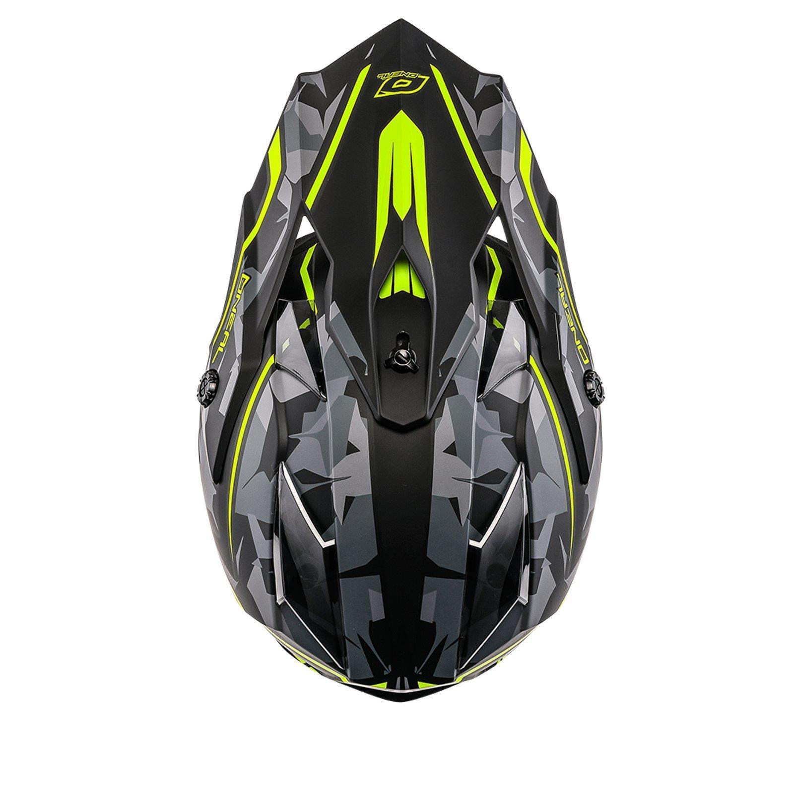 ONeal-Motocross-casco-MX-ENDURO-MOTO-BICI-FUORISTRADA-CROSS-Series-Adventure miniatura 129