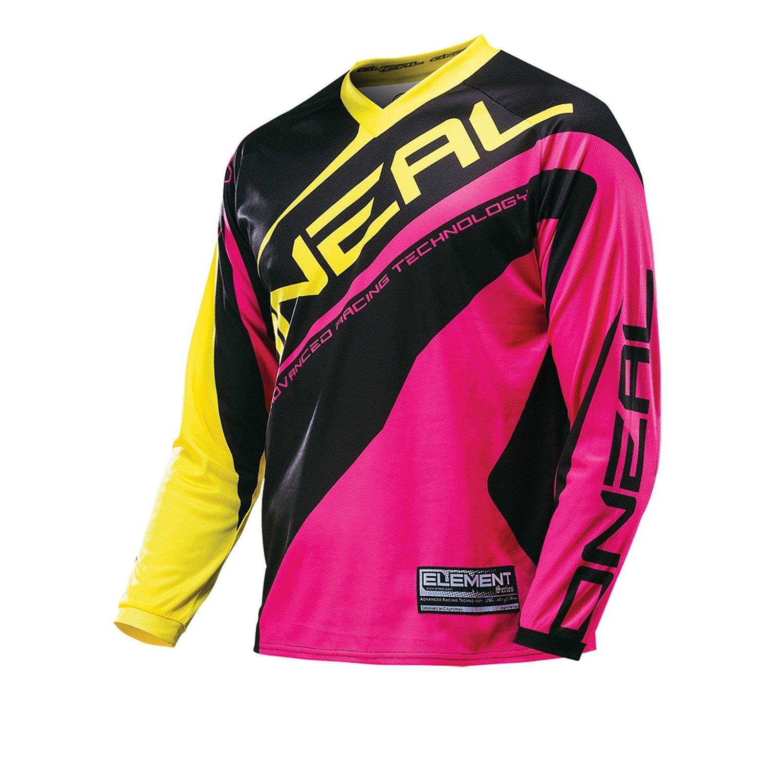 O-039-Neal-elemento-Mayhem-JERSEY-Racewear-Motocross-Maglia-MX-DH-FR-MTB-MOUNTAIN-BIKE miniatura 101