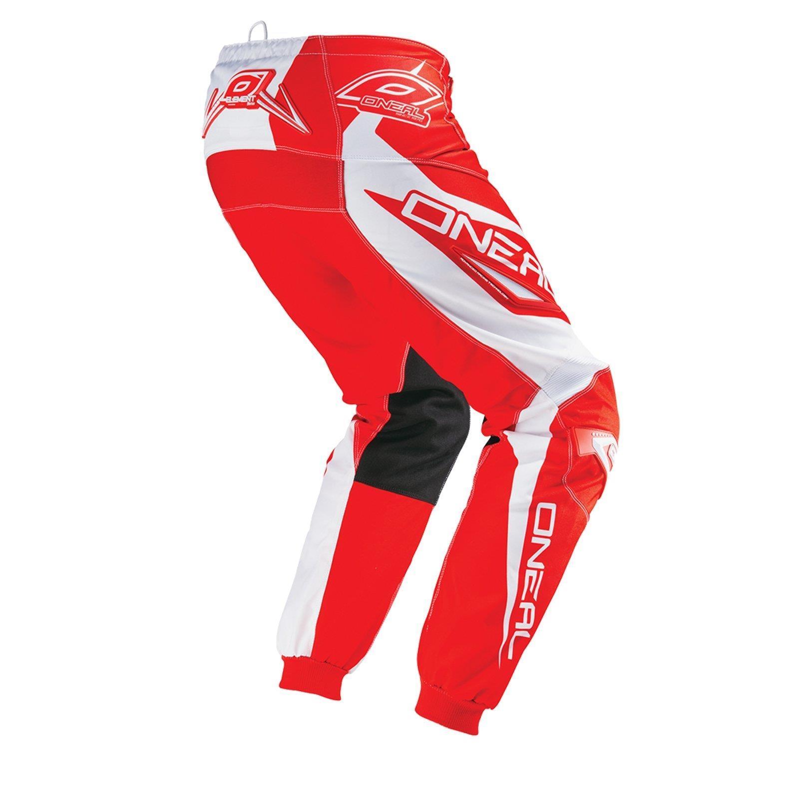 O-039-Neal-elemento-Mayhem-Hardwear-Pants-Pantaloni-MX-MOTO-CROSS-ENDURO-OFFROAD-Pelle miniatura 18