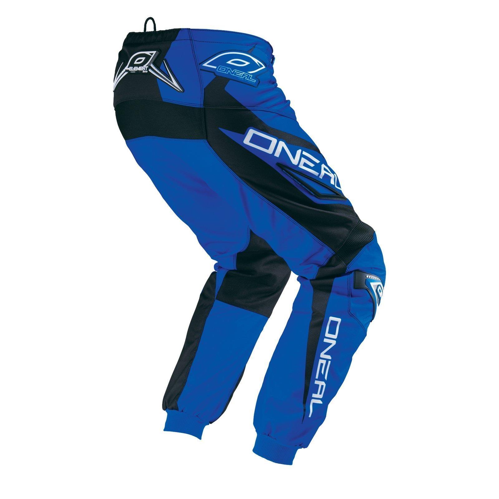 O-039-neal-elemento-Mayhem-Hardwear-Pants-pantalones-MX-Moto-Cross-Enduro-todoterreno-cuero miniatura 14