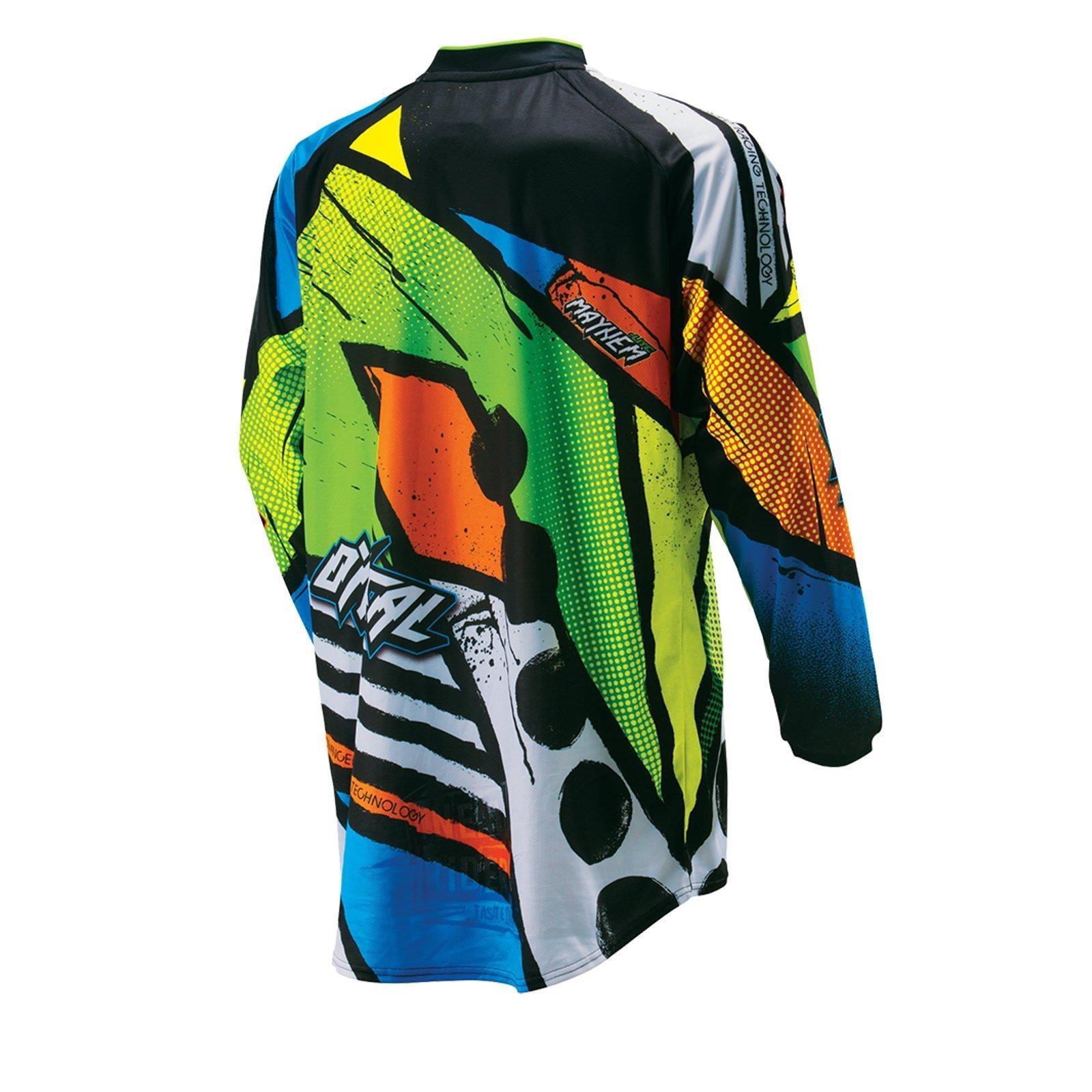 O-039-Neal-elemento-Mayhem-JERSEY-Racewear-Motocross-Maglia-MX-DH-FR-MTB-MOUNTAIN-BIKE miniatura 92