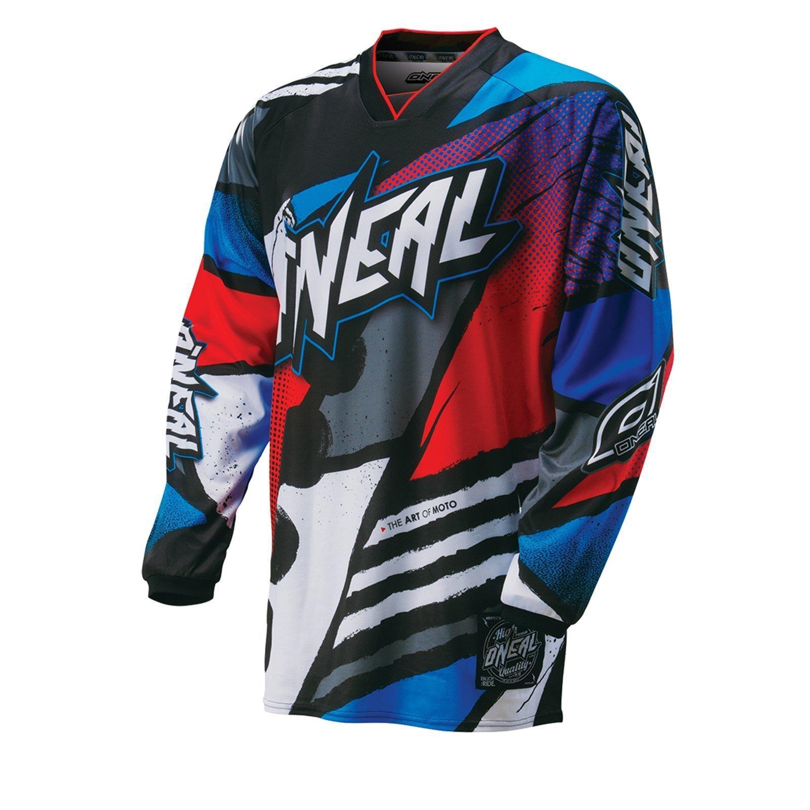 O-039-Neal-elemento-Mayhem-JERSEY-Racewear-Motocross-Maglia-MX-DH-FR-MTB-MOUNTAIN-BIKE miniatura 89