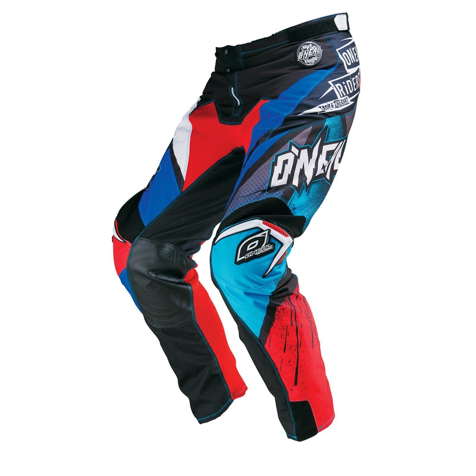 O-039-neal-elemento-Mayhem-Hardwear-Pants-pantalones-MX-Moto-Cross-Enduro-todoterreno-cuero miniatura 23