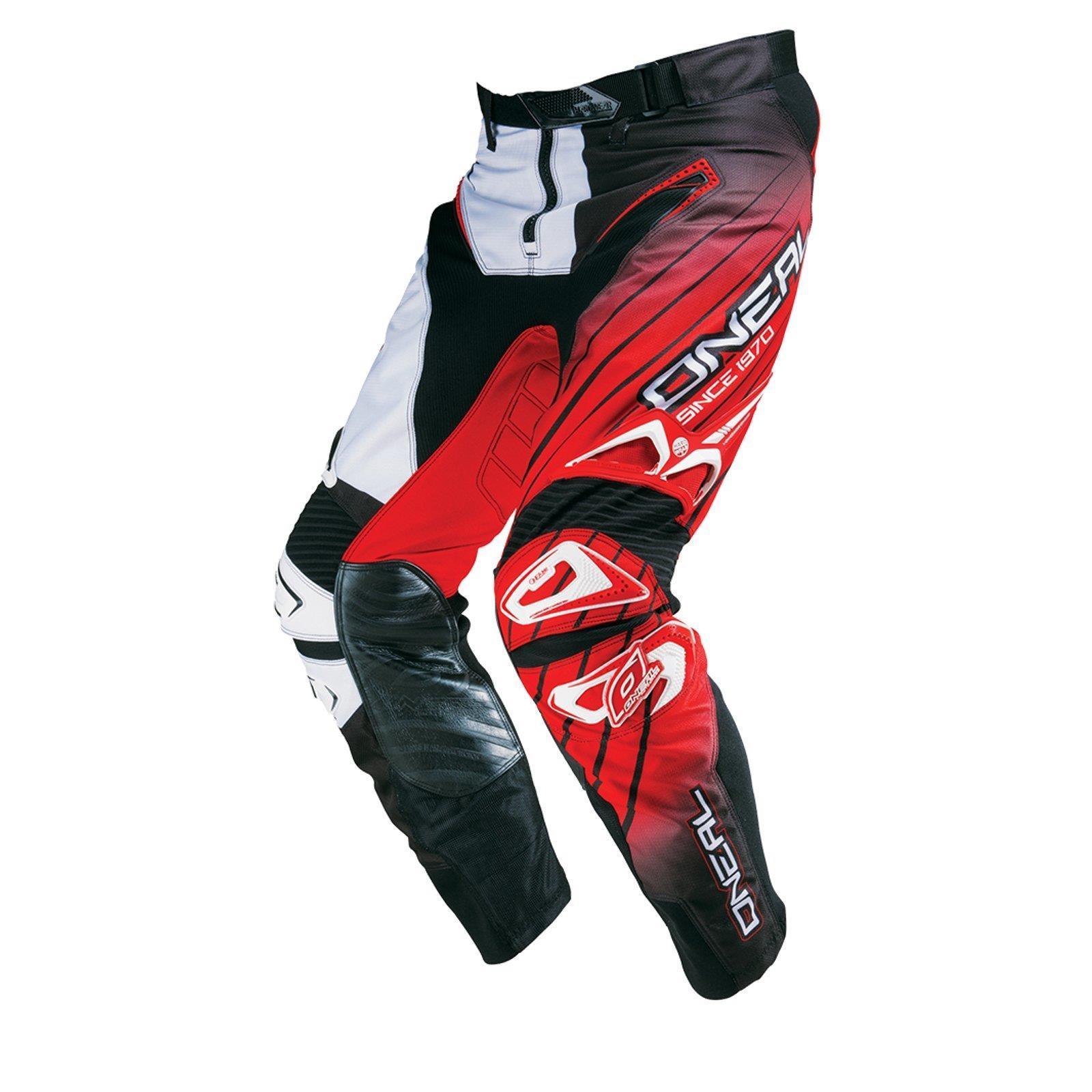 O-039-Neal-elemento-Mayhem-Hardwear-Pants-Pantaloni-MX-MOTO-CROSS-ENDURO-OFFROAD-Pelle miniatura 31