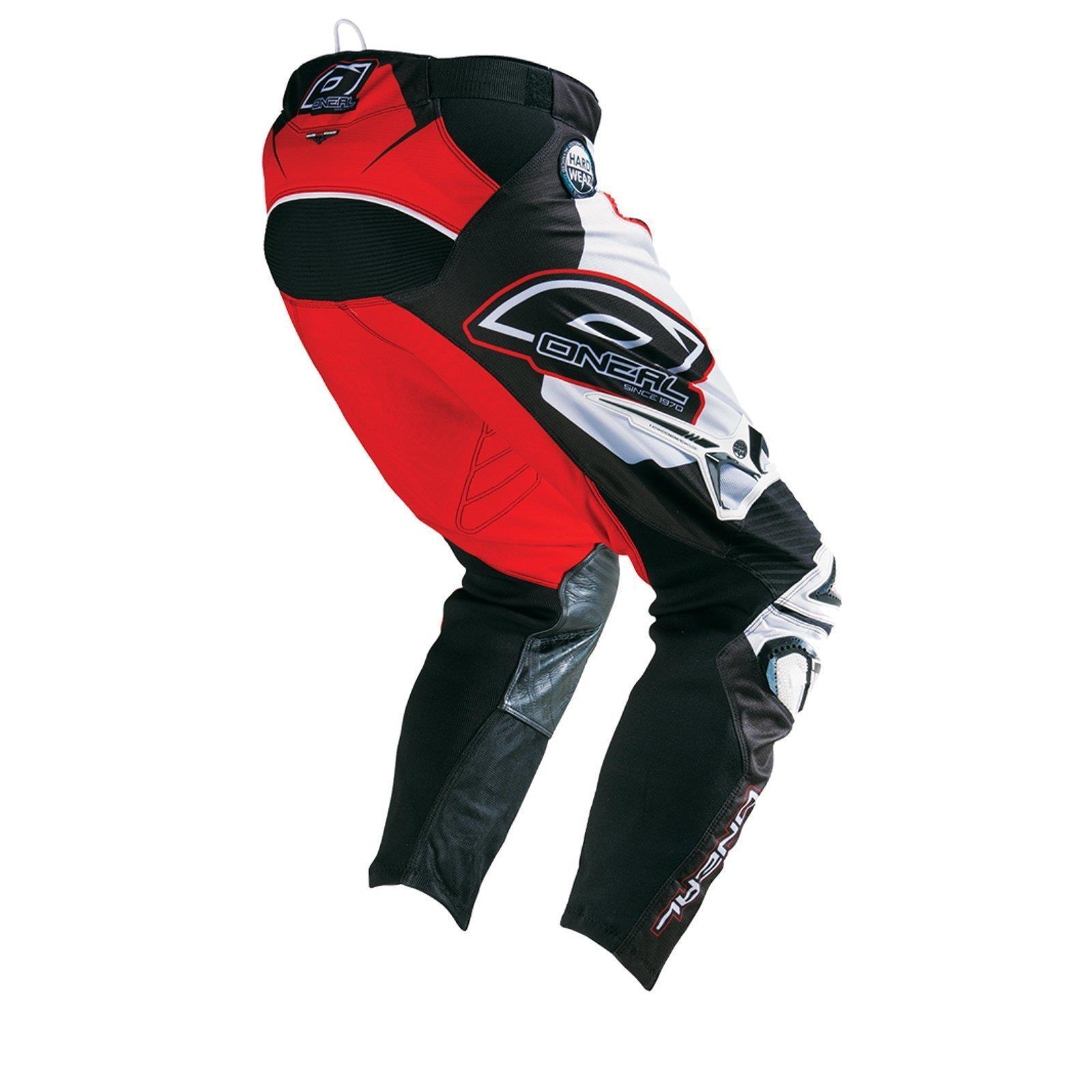 O-039-Neal-elemento-Mayhem-Hardwear-Pants-Pantaloni-MX-MOTO-CROSS-ENDURO-OFFROAD-Pelle miniatura 32
