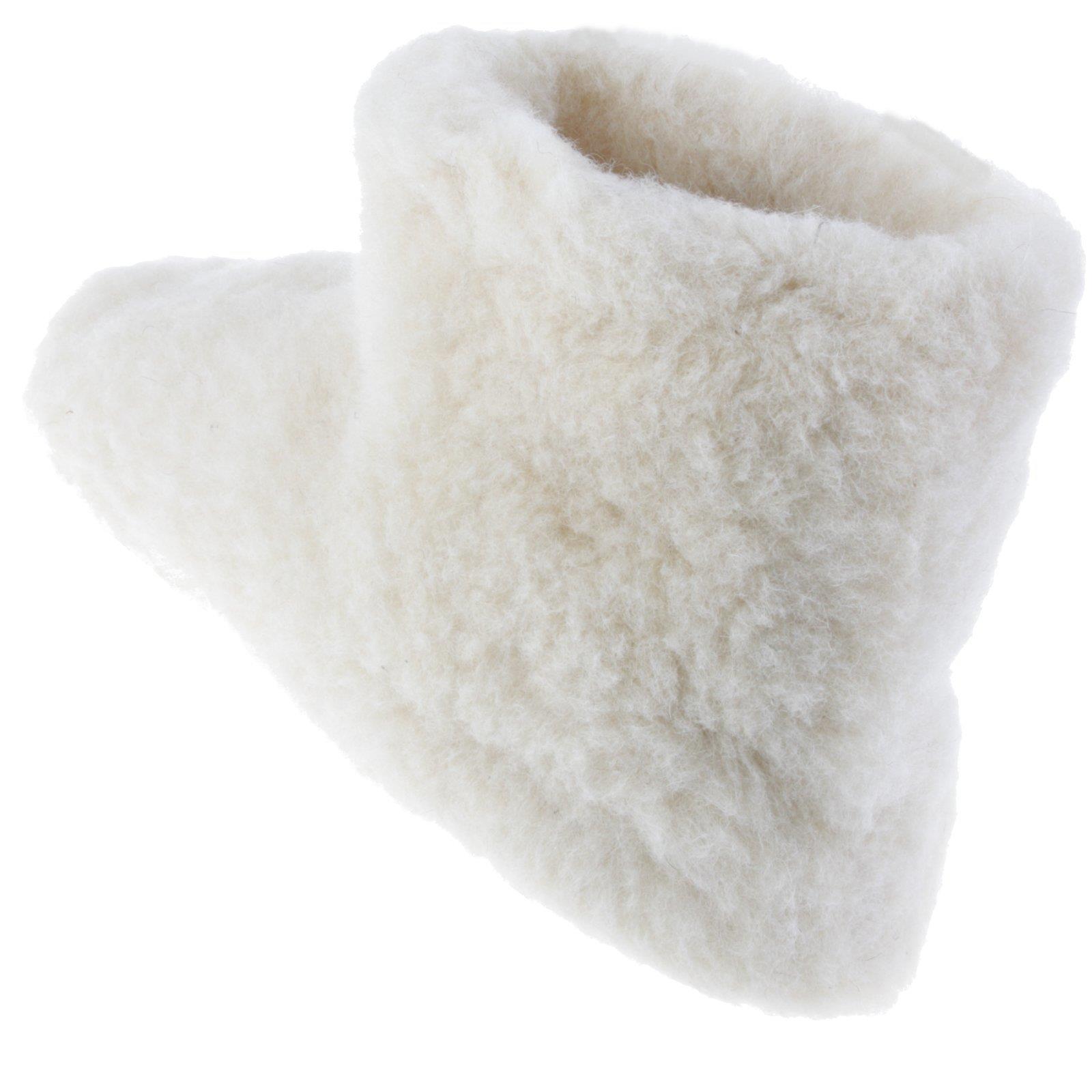 Lammfell-Hausschuhe-Pantoffel-Puschen-Schlappen-Slipper-Pluesch-Unisex-37-46 Indexbild 20