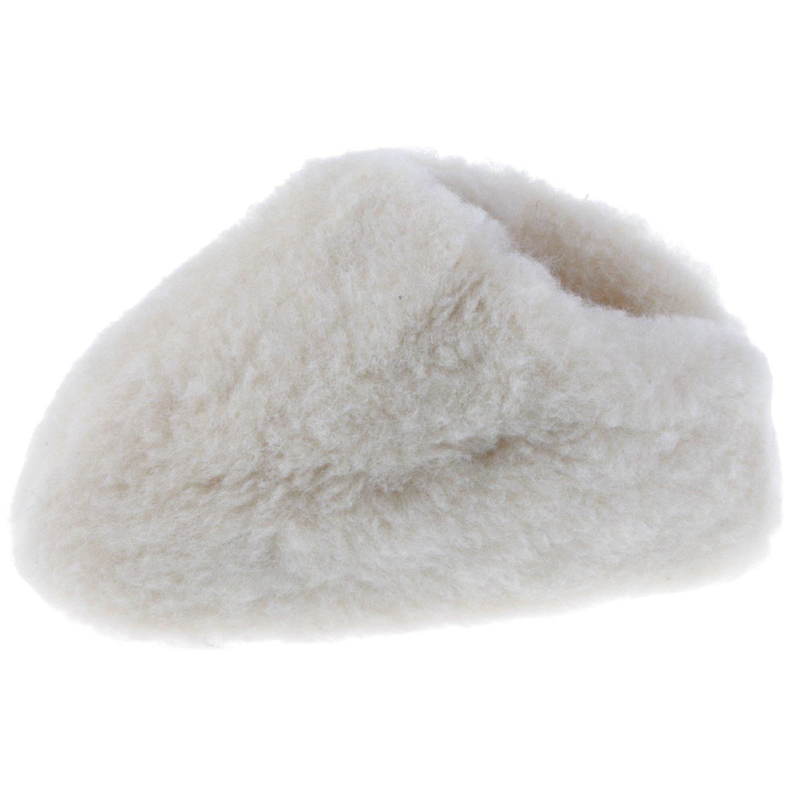 Lammfell-Hausschuhe-Pantoffel-Puschen-Schlappen-Slipper-Pluesch-Unisex-37-46 Indexbild 25