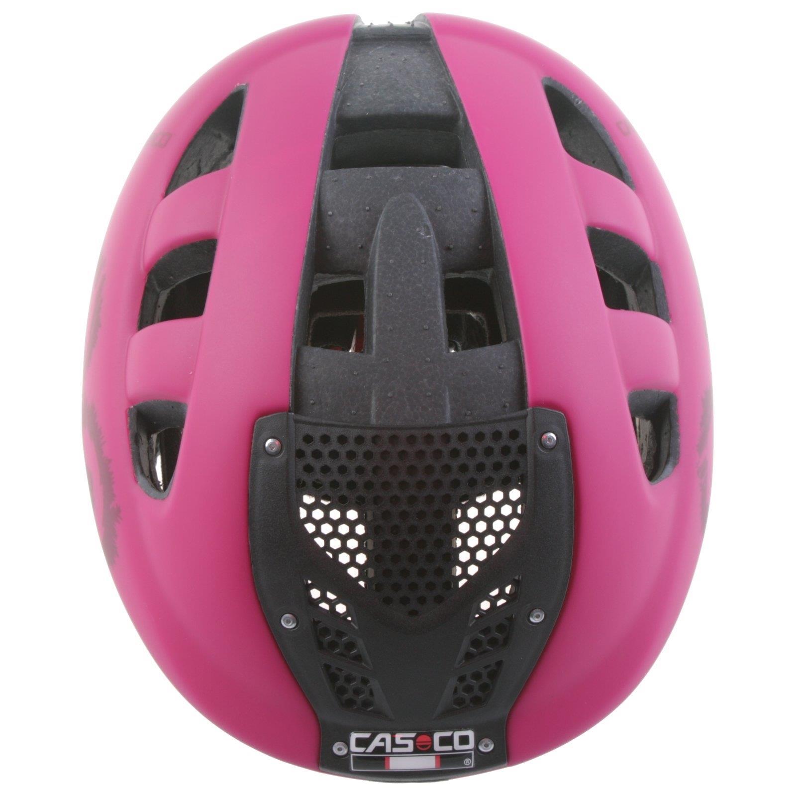 Casco G2 Generation Berry Matt Kinder Helm Fahrrad