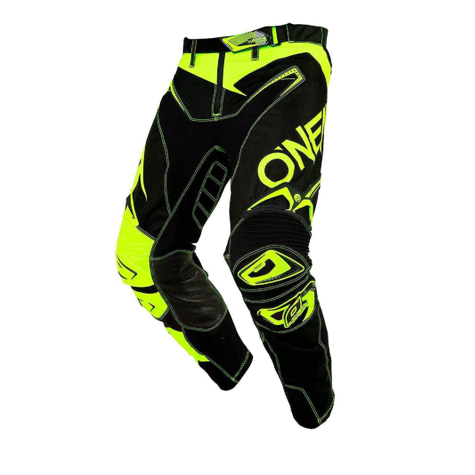 O-039-neal-elemento-Mayhem-Hardwear-Pants-pantalones-MX-Moto-Cross-Enduro-todoterreno-cuero miniatura 29