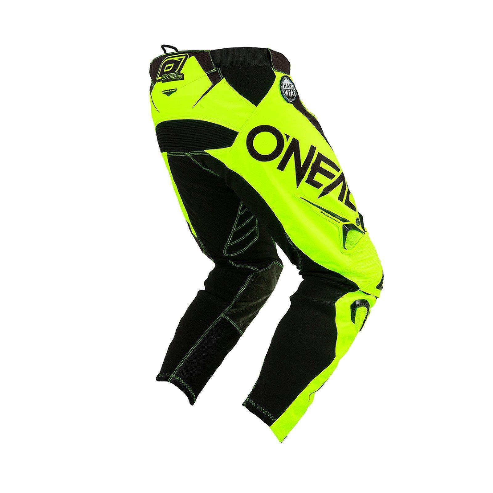 O-039-Neal-elemento-Mayhem-Hardwear-Pants-Pantaloni-MX-MOTO-CROSS-ENDURO-OFFROAD-Pelle miniatura 30