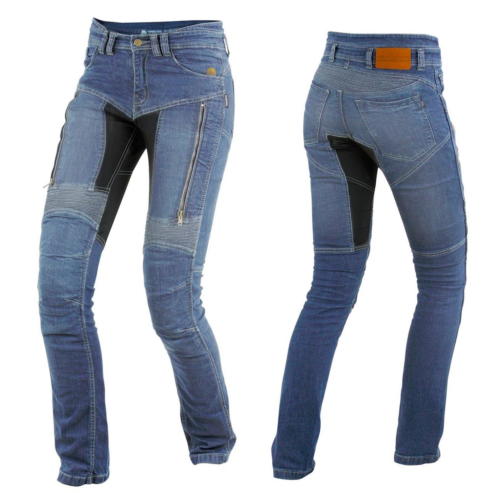Trilobite-paradoxale-veste-pantalon-protecteur-incl-d-039-aramide-Moto-Jeans-Hommes-Femmes miniature 5