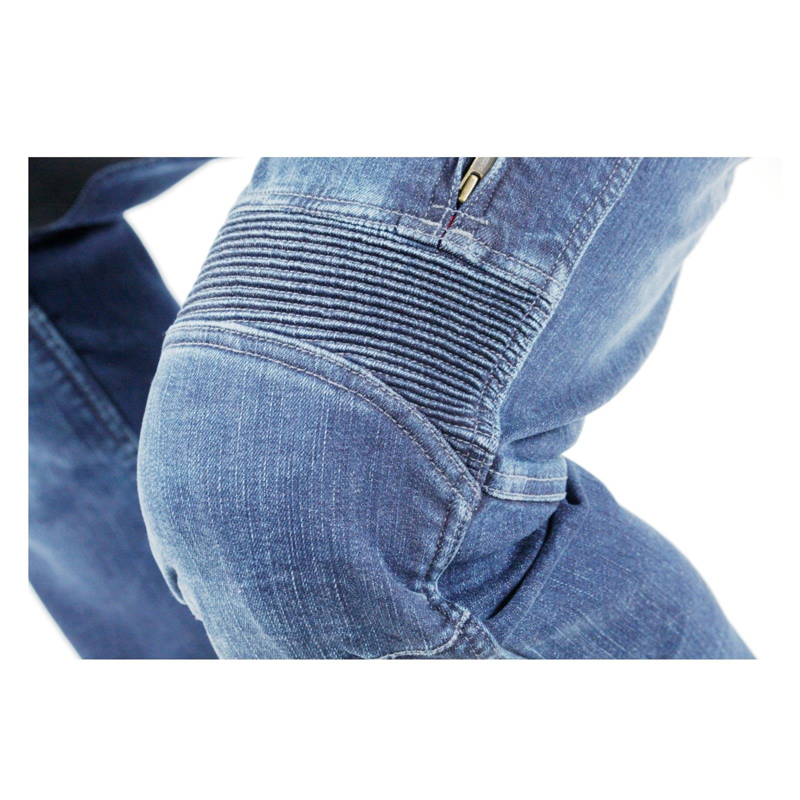 Trilobite-paradoxale-veste-pantalon-protecteur-incl-d-039-aramide-Moto-Jeans-Hommes-Femmes miniature 8