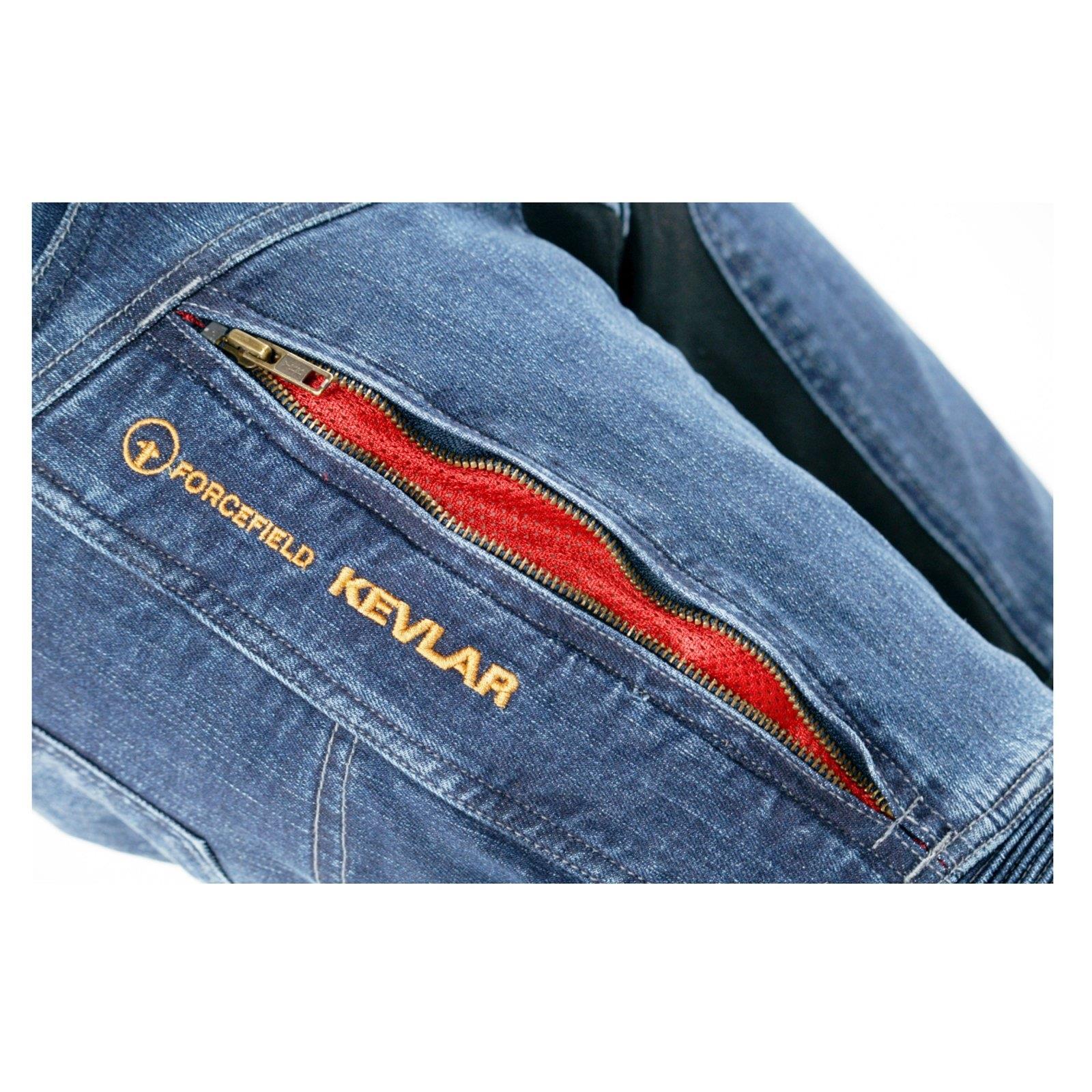 Trilobite-paradoxale-veste-pantalon-protecteur-incl-d-039-aramide-Moto-Jeans-Hommes-Femmes miniature 9