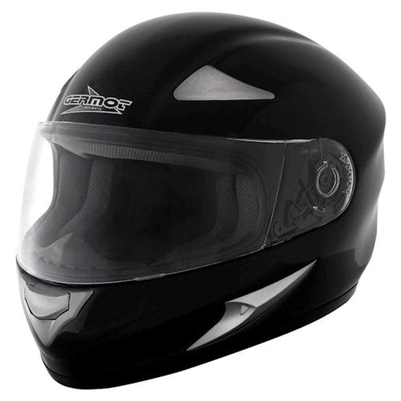 germot gm 720 integral helm bergr e schwarz motorrad. Black Bedroom Furniture Sets. Home Design Ideas