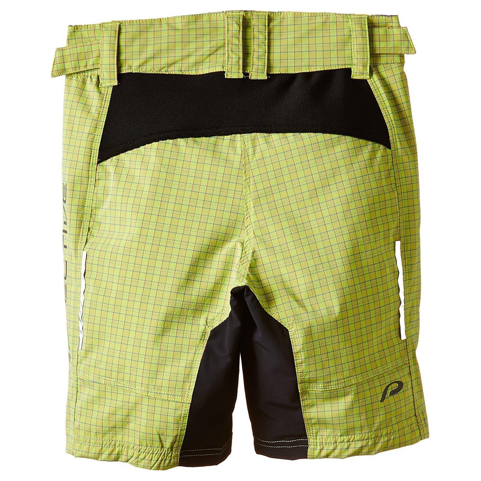 protective checker damen shorts hose kurz mountain bike fahrrad taschen trekking ebay. Black Bedroom Furniture Sets. Home Design Ideas