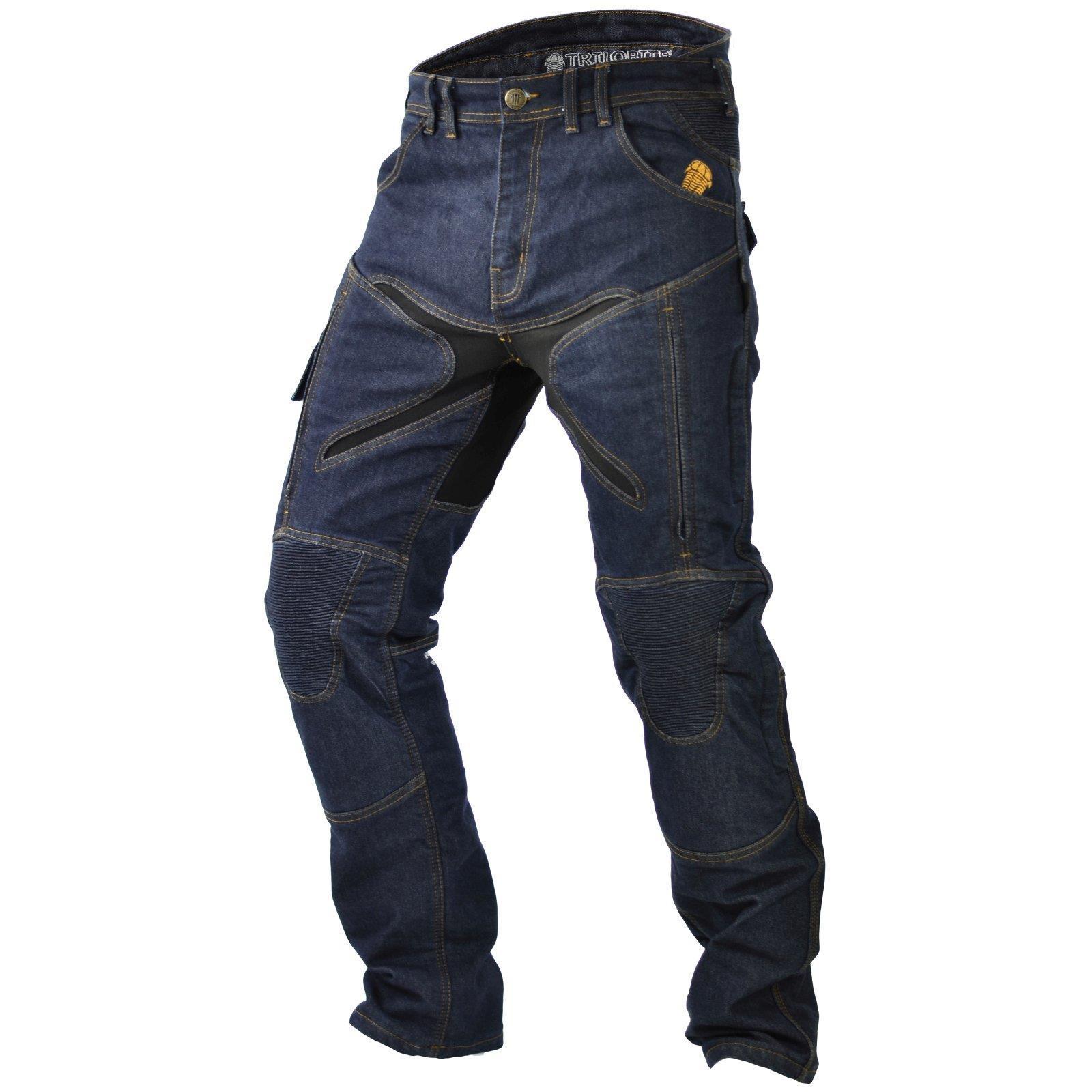 Trilobite-Pantaloni-Moto-Jeans-Abbigliamento-Parado-MICAS-URBAN-DUAL-PANTS-ACID miniatura 25