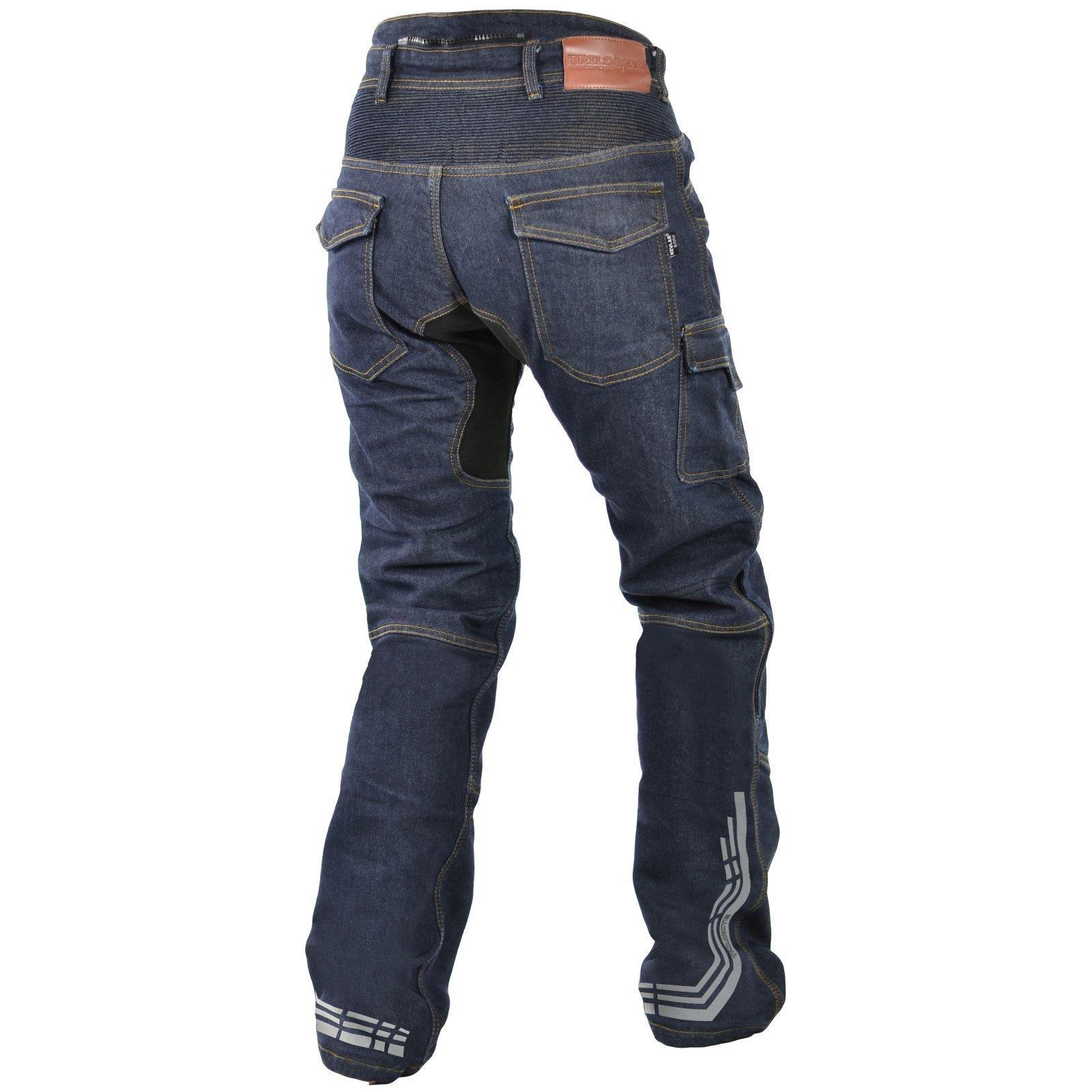 Trilobite-Pantaloni-Moto-Jeans-Abbigliamento-Parado-MICAS-URBAN-DUAL-PANTS-ACID miniatura 88