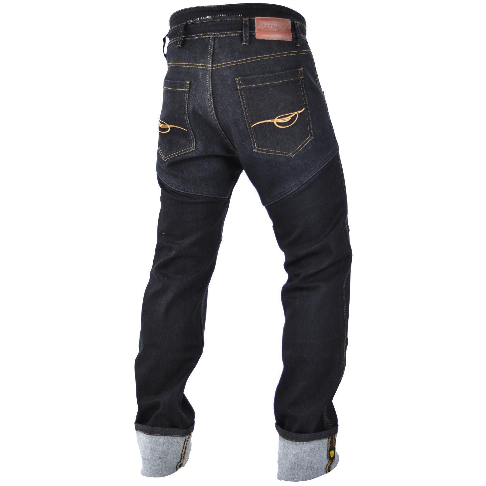 Trilobite-Pantaloni-Moto-Jeans-Abbigliamento-Parado-MICAS-URBAN-DUAL-PANTS-ACID miniatura 16