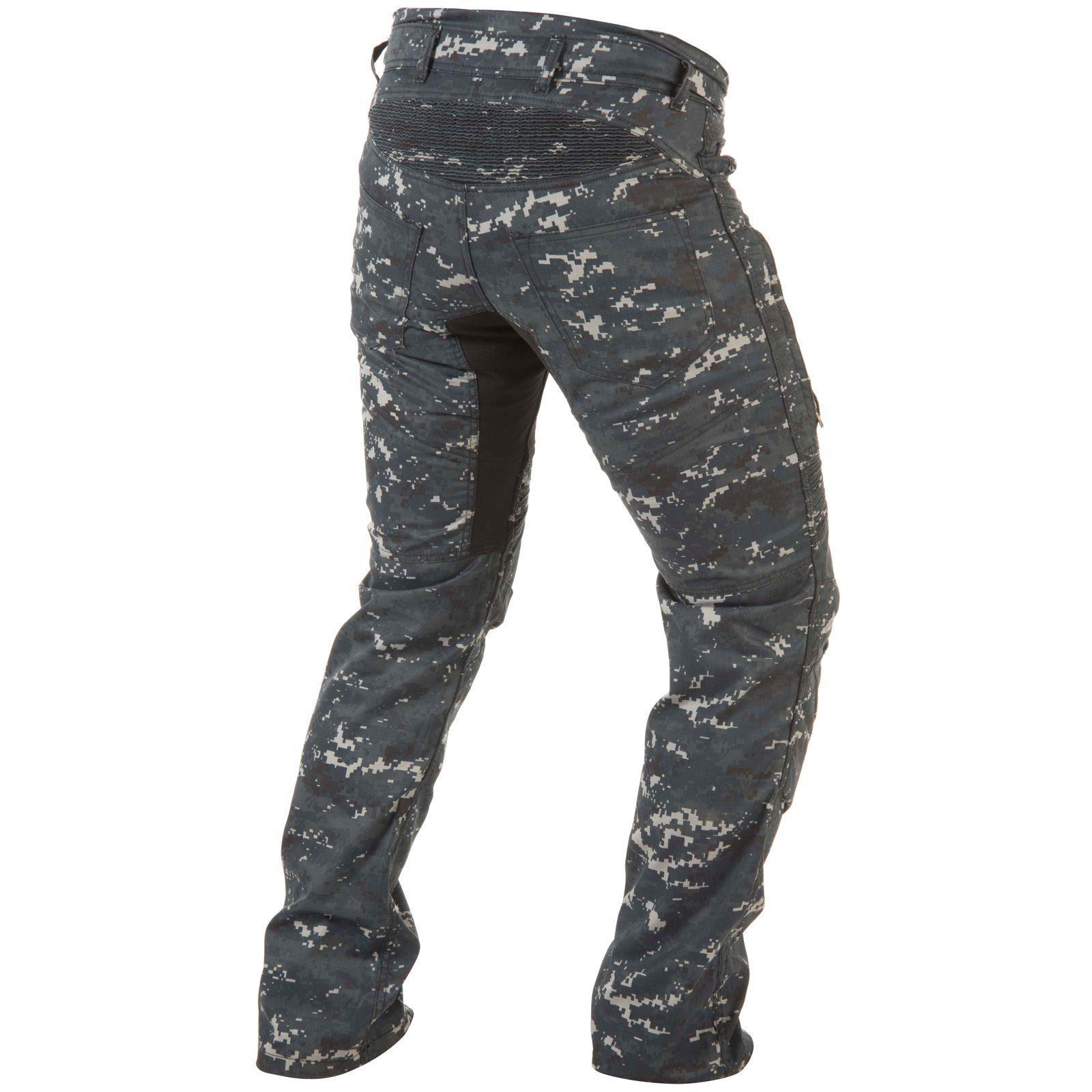 Trilobite-Pantaloni-Moto-Jeans-Abbigliamento-Parado-MICAS-URBAN-DUAL-PANTS-ACID miniatura 52