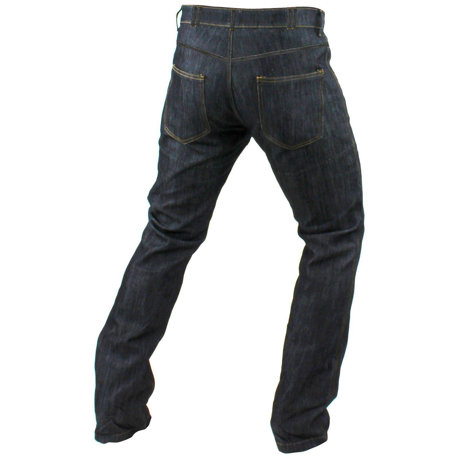 Trilobite Ton Up Jeans Uomo Pantaloni Moto fatti a mano mano mano blu di alta qualità c71d9d